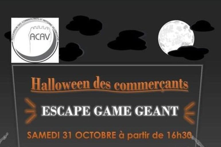 Halloween des commerçants